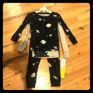 Carter's 3 pc Pajama Set - outer space